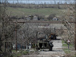 Fighting in eastern Ukraine rages on overnight despite talks