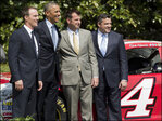 Obama honors Bakersfield's Kevin Harvick at White House