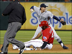 Walker has solid start for Mariners in 3-1 win at Rangers