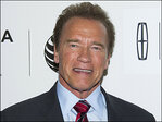Arnold Schwarzenegger ready to help guide you through traffic