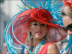 Photos: Festive hats steal the show at Kentucky Derby