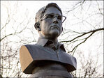 Artists who put Ed Snowden bust on NYC monument ticketed
