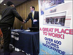 U.S. economy rebounding with solid if unspectacular job gains