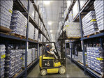 U.S. wholesale stockpiles rose slightly in March