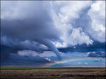 Photo captures tornado, rainbow: 'It was pretty darn awesome!'