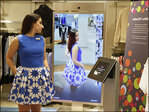 Mirror, mirror on the wall: High-tech fitting rooms offer 'smart mirrors'