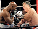 'Sting like a butterfly': Holyfield jabs Romney for charity