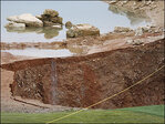 Talk about a hazard! Giant hole forms at entrance of Missouri golf course