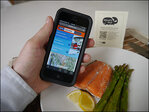 Latest in food-track tech: Swipe a code, meet your fisherman