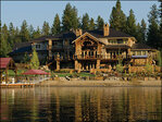 Photos: $6.9 million Idaho beach front home sparkles on the water