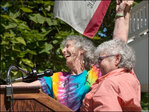 Gay marriage opponents balk, while couples rush to wed