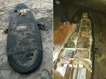 Meth's up! Surfboard packed with drugs washes up on beach
