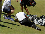 Jason Day needs medical attention after collapsing at US Open