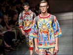 Photos: High-end designers hit the runway in Milan