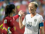 Wambach says US win caps historic gay marriage day