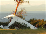Two injured in Whidbey Island plane crash