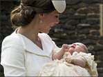 Photos: Princess Charlotte christened on royal estate