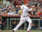 Hitters take aim at river for home run derby