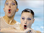 Photos: Synchronized swimmers make a splash at Pan Am Games
