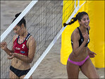 Photos: Beach volleyball at the Pan Am Games