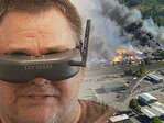 Drone pilot on mill fire: 'I wanted to show people what it looked like'