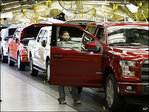 Ford surprises in 2nd quarter with record North American profit