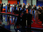 The GOP debate in pictures