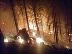 20,804-acre Stouts Creek Fire relatively calm overnight, officials say