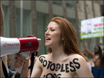 NY stages topless parade with 60 cities worldwide