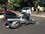 Motorcycle officer hit while heading to crash, Beaverton PD says