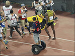 Watch: Champion sprinter Usain Bolt wiped out by segway