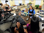 Judge jails Ky. clerk for refusing gay marriage licenses