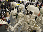 We're ba-aack! Shuttered stores lurch to life for Halloween