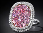 Stamp-sized pink diamond could bring $28 million at auction