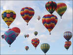 Mass ascension kicks off international balloon fiesta