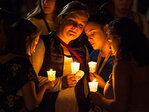 Photos: Vigil for UCC on UO campus