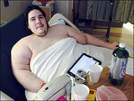 800-pound man says he's determined to slim down, live a life