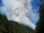 Forest Service: Target practice sparks 1,000 acre fire near Mt. Hood
