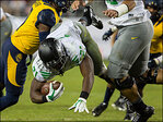 Photos: Ducks defeat Cal 59-41 at Levi's Stadium