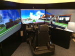Driving simulator helps train local firefighters