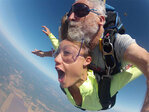 Skydiving: 'It's not as scary as you think'