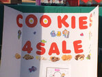 Girl Scouts sell cookies outside Eugene pot shop