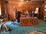 Gov. Brown signs employment bills, talks drought with KVAL News