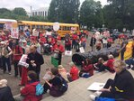 'No LNG, no pipeline' - protesters rally against natural gas projects