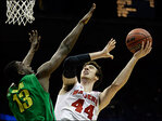 Ducks fall to Wisconsin 85-77 in their 2nd NCAA tourney matchup