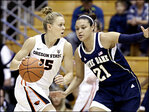 Oregon State falls short against No. 2 Notre Dame, 70-58