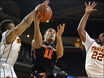 Oregon State completes season sweep of USC 76-66