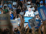 Photos: Sen. Bernie Sanders speaks to 28K at Portland campaign stop