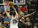 Grizzlies never trail, rout Trail Blazers 100-86 in Game 1