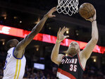Blazers lose third meet with Warriors this season, 116-105